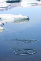 Kreise am Eiswasser
