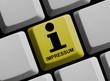 Homepage - Impressum und Information