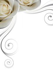 Rosen mit Ornamente