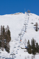 a ski chairlift