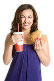 Fast Food Woman poster