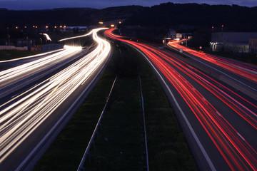 un soir sur l autoroute