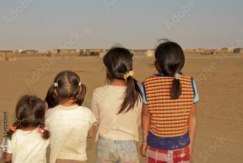 Fotobehang Overige Kinderfreundschaft