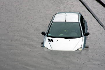 auto pluie météo