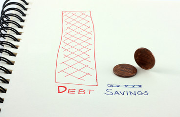Debt versus Savings