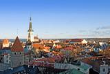 View of Tallinn, Estonia. poster