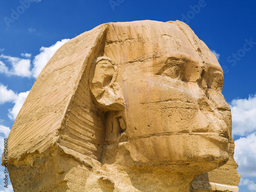 Head of the Sphinx of Giza