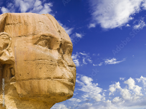 Face of the Sphinx of Giza
