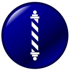 barber pole button