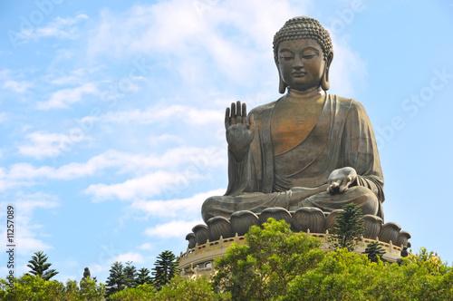 Fotobehang China Tian Tan Buddha in Hong Kong.