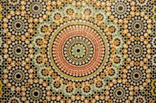 Décoration en mosaïque Oriental au Maroc