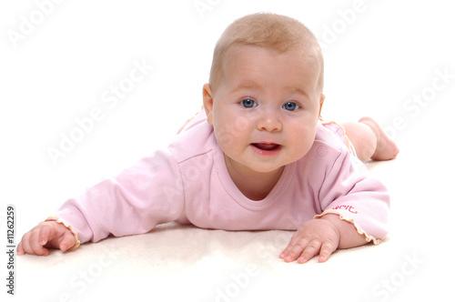 baby sechs monate alt blond und blaue augen stockfotos und lizenzfreie bilder auf. Black Bedroom Furniture Sets. Home Design Ideas