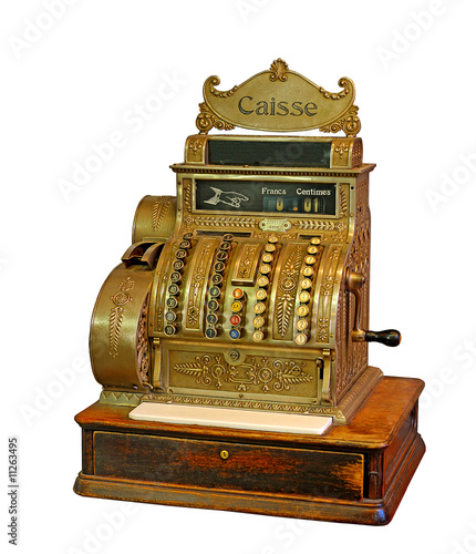 Old French Cash Register