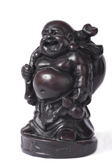 Chinese god statuette