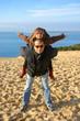 bonheur familial sur la dune du Pilat