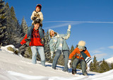 Fototapety winter fun 4