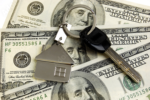Keys on money