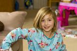 Child in Pajamas poster