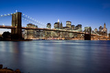 Brooklyn Bridge at Twilight-
