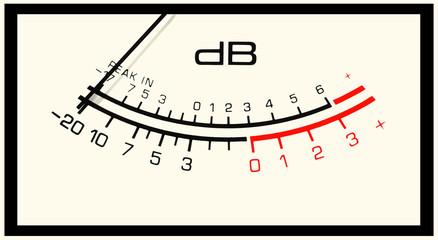 vu level meter