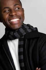 Happy Black Man