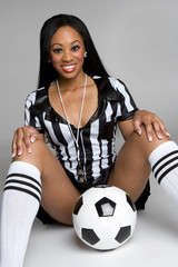 Referee With Ball