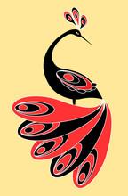 Decorative magic bird.