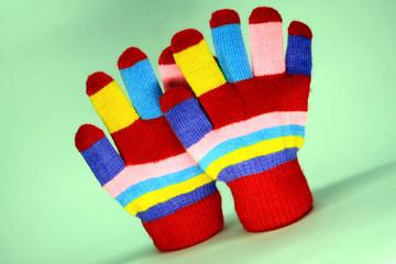 Nice knited mitten