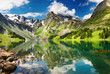 Leinwandbild Motiv Mountain lake