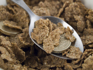 Credit Crunch Breakfast Cereal
