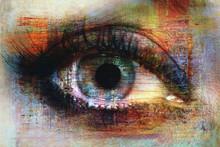 Auge Textur