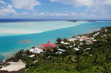 Maupiti Lagoon (nex to Bora Bora), French Polynesia
