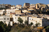 Houses in the city of Fes, Morocco poster