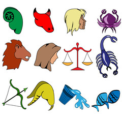 sagni zodiacali