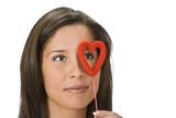 Valentine monocle poster
