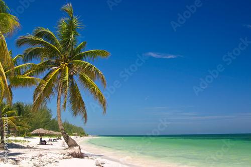 Fotobehang Caraïben Tropical Beach