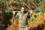 Military physical training, exercise with weight