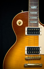 Classic Electric Guitar with Tobacco Honey Sunburst Finish
