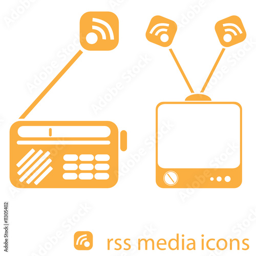 poster of RSS media icons