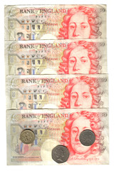 old english money