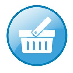 Shopping Basket button (blue)