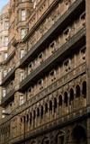 Facade de Russel Hôtel, à Londres poster