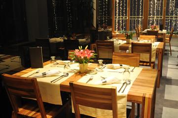luxury modern indoor restaurant