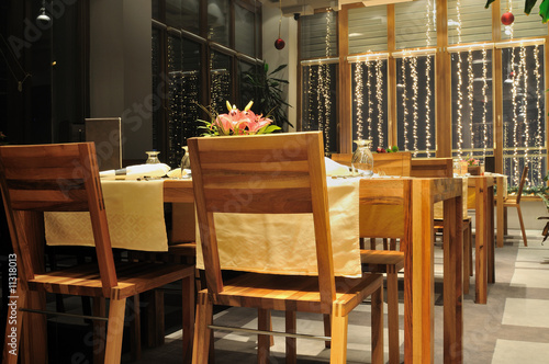 luxury modern indoor restaurant