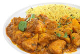 Chicken Bengal Indian Curry poster