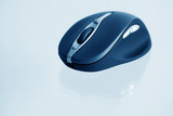 Wireless computer mouse. poster