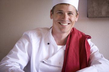 Portrait of male chef