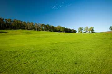 Golf course in Molle, Sweden