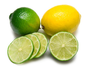 Lemon and lime