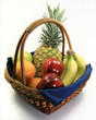 Fruit basket from the end